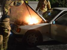 Auto in brand op Geesterwijckstraat in Monster