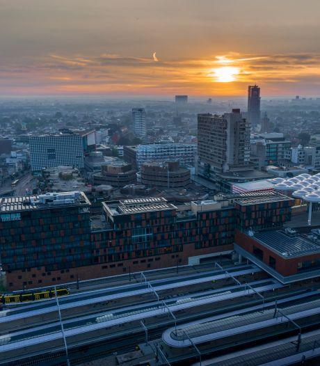 Jasper en Sietske wonen op de 28ste verdieping en hebben het mooiste uitzicht van Utrecht