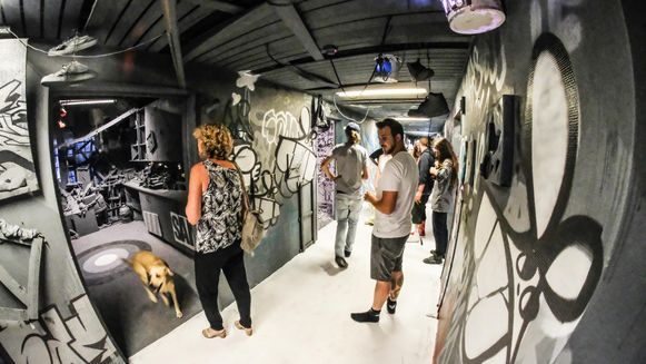 Het Street Art Museum opende vrijdagavond officieel.