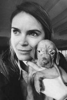 Dubbele naam voor puppy Hanna, André mist André