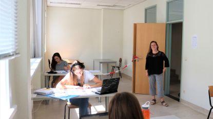 Studenten opnieuw welkom in blokkot op Panquinsite