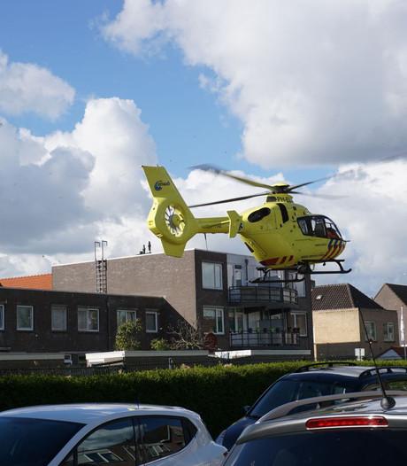 Traumahelikopter in Gouda voor 'brandwonden kokend water'