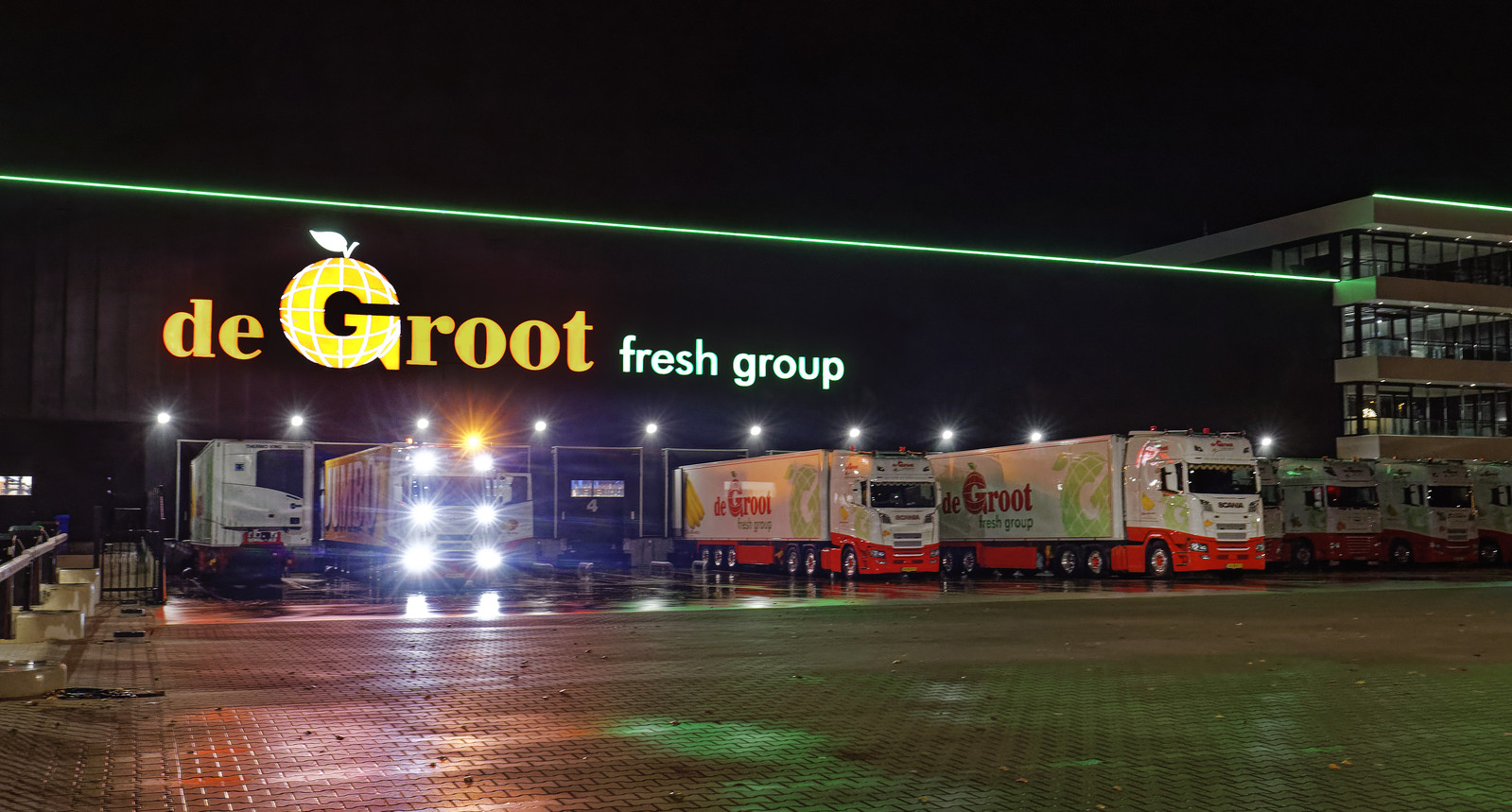 De Groot Fresh Group in Hedel