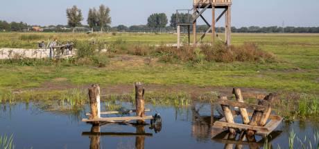 Borden gesloopt en picknicktafels in het water: boswachter baalt van nieuwe vernielingen Hooilanden
