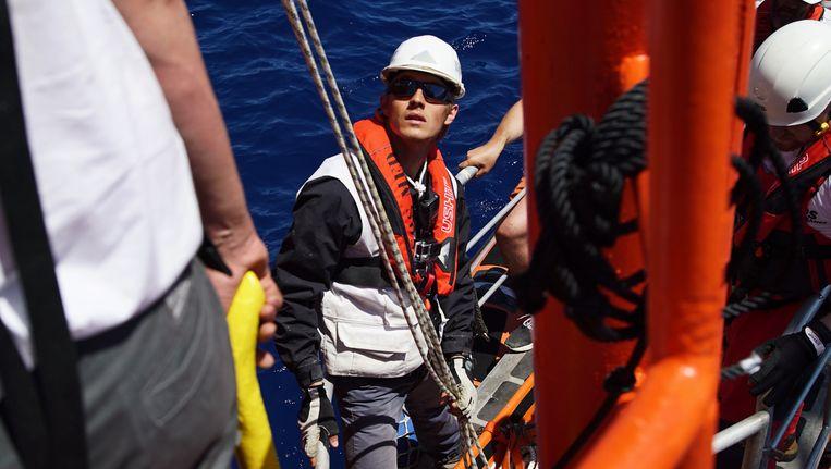 De Fransman Antoine Laurent leidt het SOS-team op. 'De organisatie heeft zich een beetje verkeken op de complexiteit van het werk.' Beeld ap