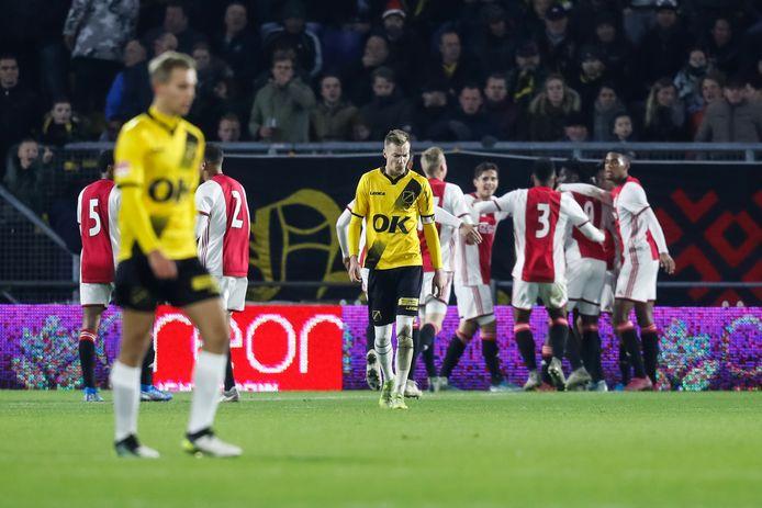 NAC had weinig in te brengen tegen Jong Ajax.