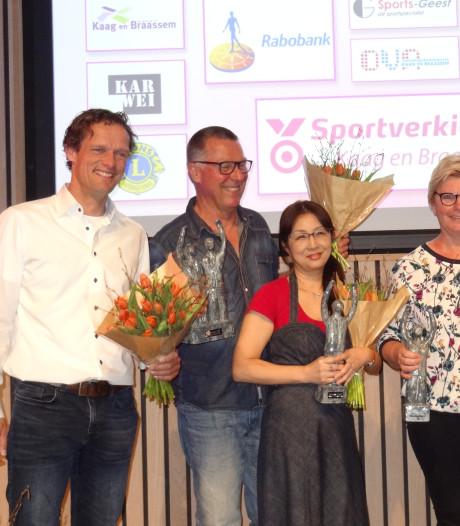 Sportprijzen voor Verbij en Heemskerk in Kaag en Braassem