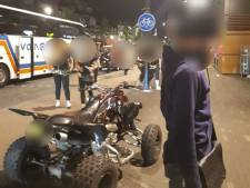 Quadrijder maakt expres herrie bij uitgaangsgebied Tilburg, stopt niet na 1140 euro aan bekeuringen