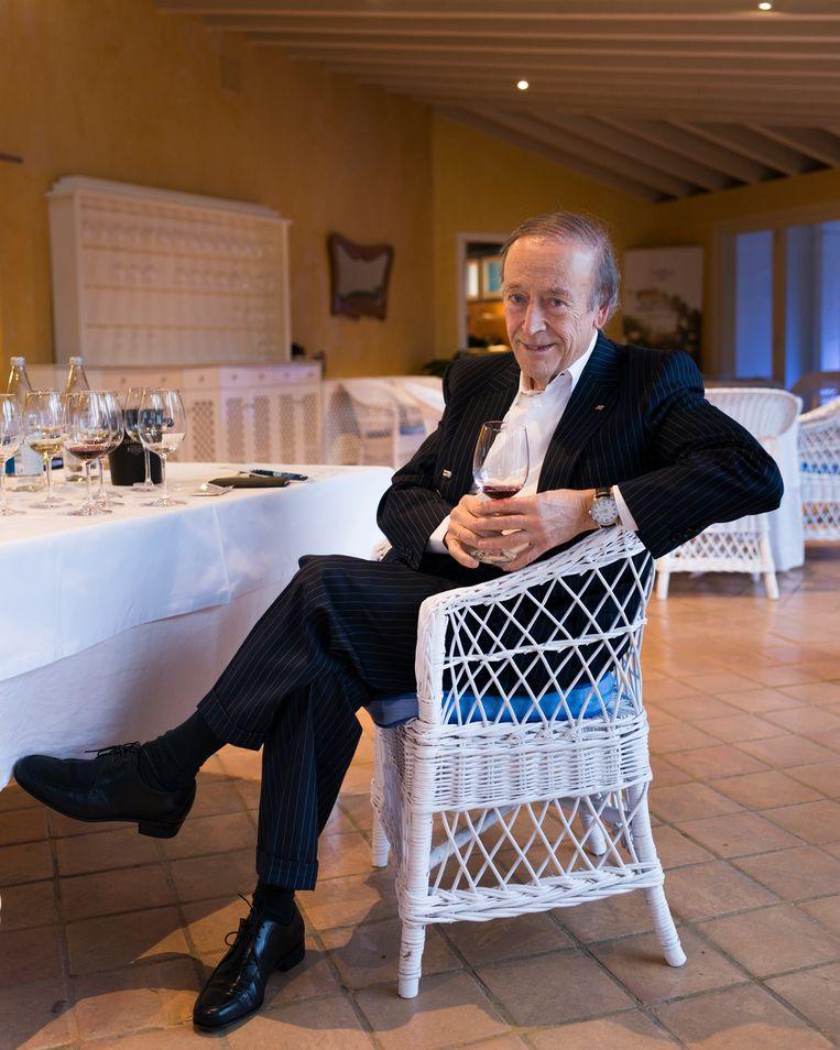 Pater familias Miguel Torres, van het grootste wijnhuis in Spanje. Beeld Eva Faché