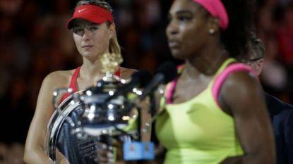 """De bittere rivaliteit tussen Sharapova en Williams die begon met voorval in Wimbledon-kleedkamer: """"Vreemd dat mijn naam zo vaak in haar boek staat"""""""