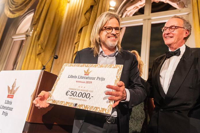 Rob van Essen heeft met zijn roman De goede zoon de Libris Literatuur Prijs 2019 gewonnen.