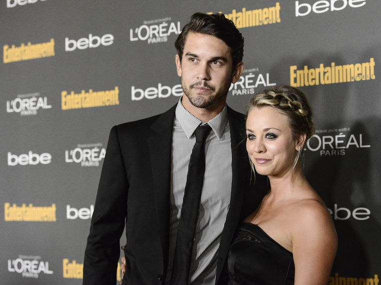 Kaley Cuoco met haar ex-man Ryan Sweeting.
