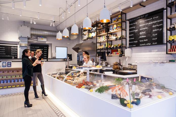 The Seafood Shop aan de Leidsestraat