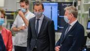 """Minister Beke bezoekt AZ Groeninge: """"Topziekenhuis met eigen ogen bekijken"""""""