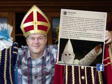 Boze Sander uit Nunspeet deelt heftige foto nadat Facebook zijn Zwarte Pieten verwijdert: 'Mag dit wel?'