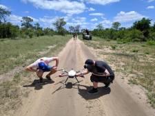 Bredase studenten speuren met drones in Afrika naar wilde dieren