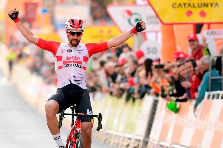 Thomas De Gendt in de Ronde van Catalonië.