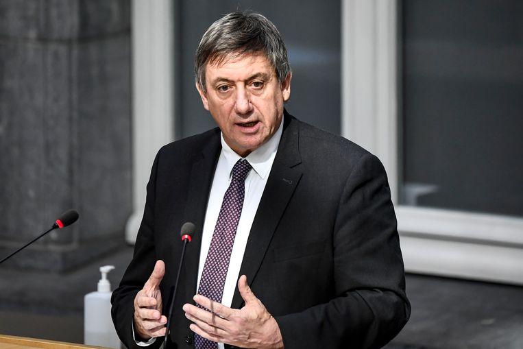 Vlaams minister-president en minister van Cultuur Jan Jambon.