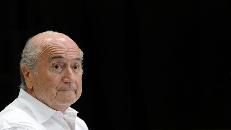 Sepp Blatter Beeld ap