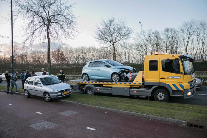 De kijkersfile aan de Wijchenseweg veroorzaakte een kettingbotsing.