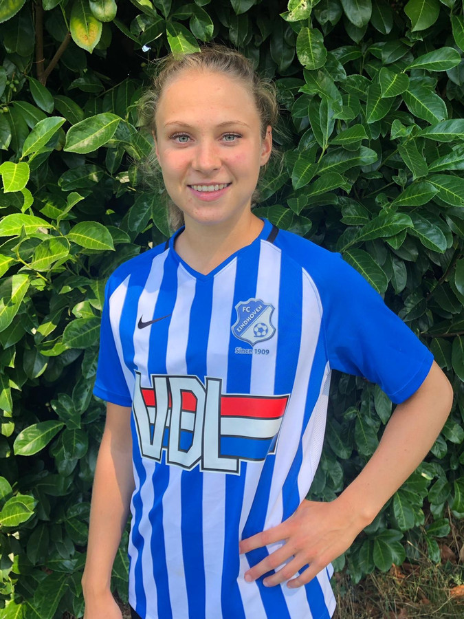 ED vrouwenvoetbal Eentweetje Nathalie van den Heuvel 071019