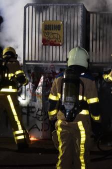 Brand op skatebaan in Doetinchem blijkt lastige blusklus