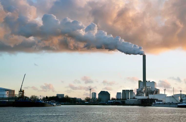 De kolencentrale van Nuon aan de Hemweg. Beeld Hollandse Hoogte / Berlinda van Dam