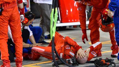 Mecanicien breekt been bij pitstop van Räikkönen