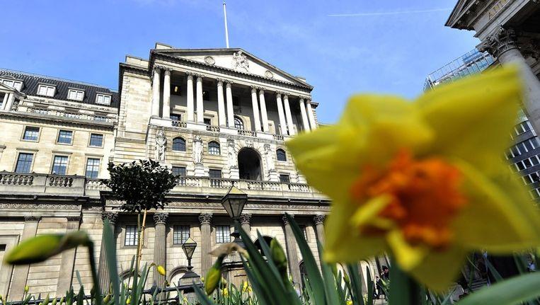 Gebouw van de Bank of England in centrum van Londen. Beeld epa