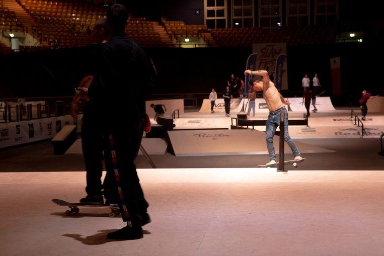 Het Kuipke kreeg een skatepark van 1.000 vierkante meter