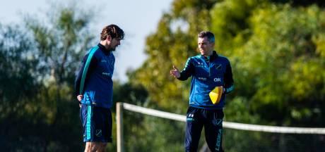 NAC-interim Weijs content met assistent Molhoek: 'In grote lijnen moet je hetzelfde over voetbal denken'<br><br>