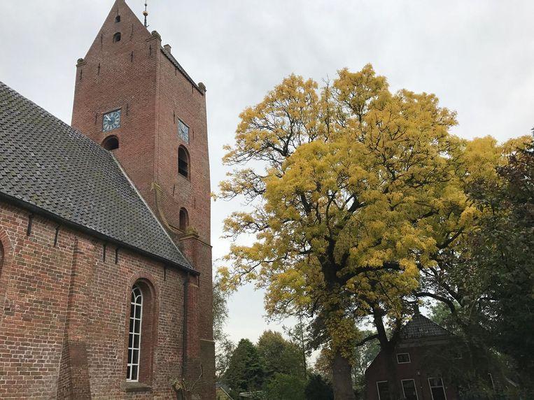 De kerk in Garnwerd Beeld