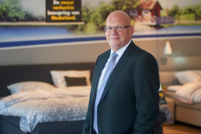 John Kruijssen, de nieuwe topman Beter Bed in Uden. Fotograaf: Van Assendelft/Jeroen Appels