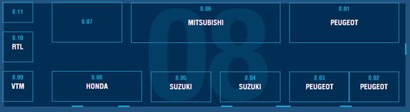 Paleis 8: Fiat Professional - Fuso - Honda - Mitsubishi - Peugeot - Suzuki