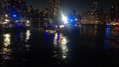 VIDEO. Helikopter crasht in East River in New York: zeker vijf doden