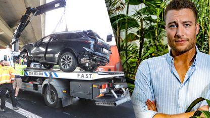 Viktor Verhulst betrokken bij zwaar ongeval op E40: Range Rover gaat verschillende keren over kop