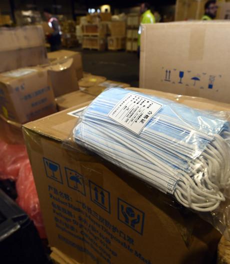 'Woekerprijzen' en vertraging voor vervoer mondkapjes uit China