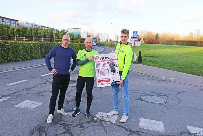 De organisatoren van de Solidpharma Run.