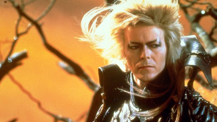 In Labyrinth speelt Bowie de Goblin King Beeld anp