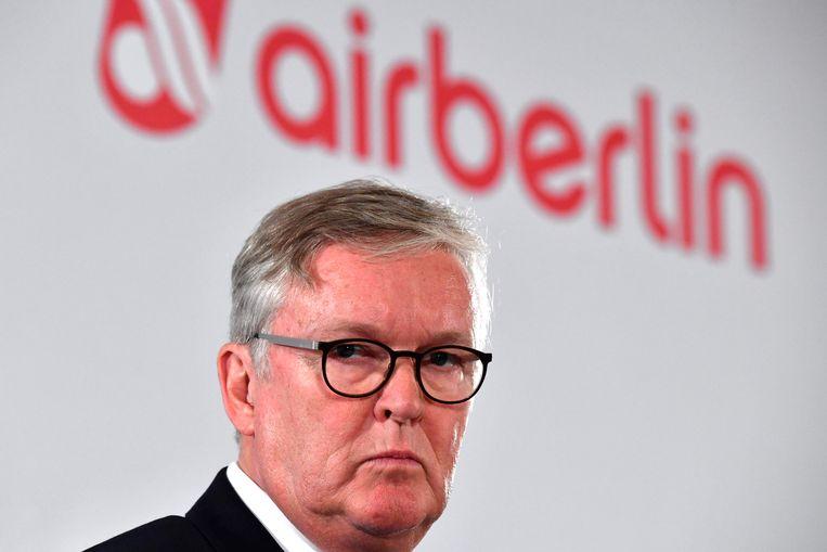 Thomas Winkelmann, CEO van Air Berlin