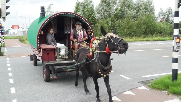 'Zigeuner' Ruud leeft zijn droom: Het is geen rijdend schijthuis
