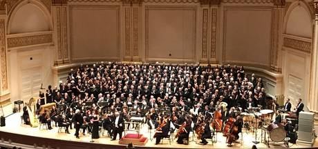 Twentenaren zingen in volle Carnegie Hall