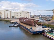 Eerste superjacht in aanbouw bij Oceanco in Zwijndrecht