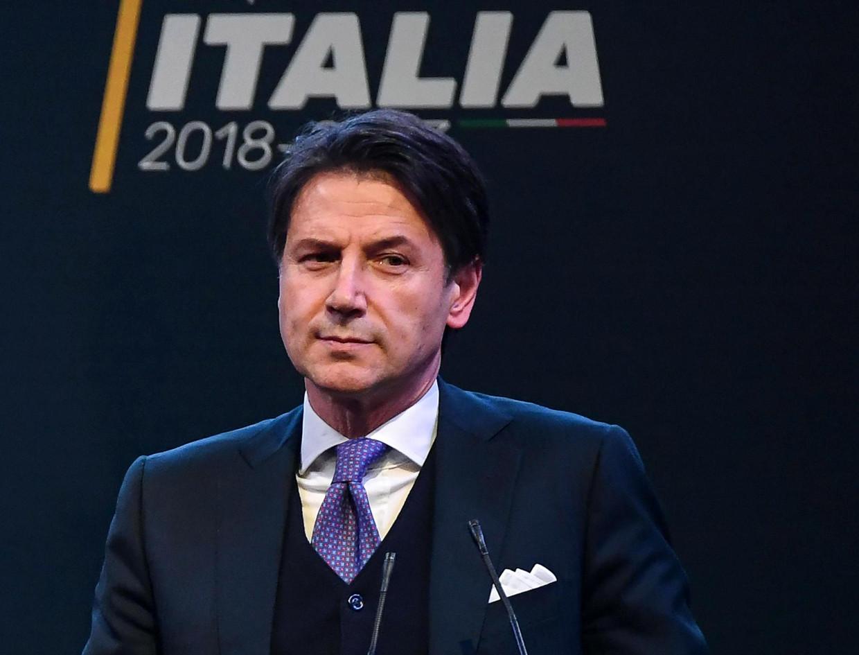 De nieuwe Italiaanse premier, Giuseppe Conte.