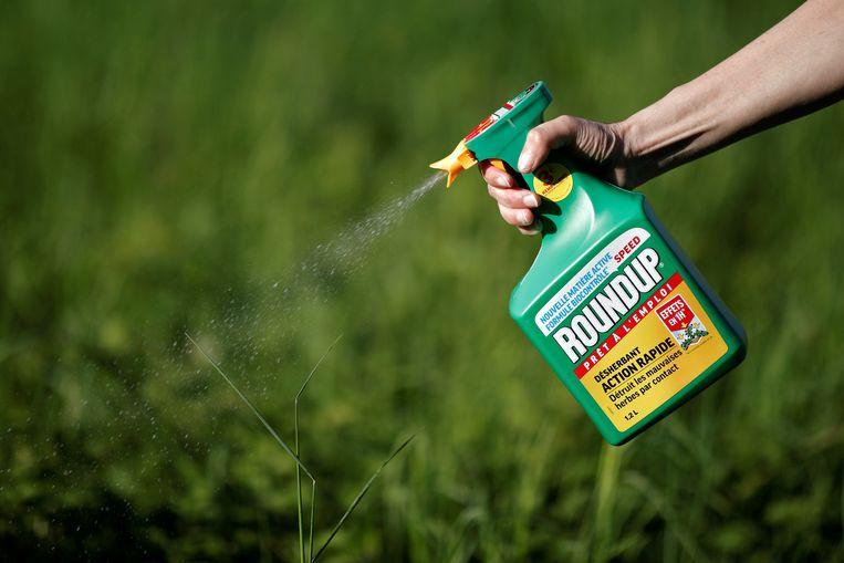 De omstreden onkruidverdelger Roundup van Monsanto.