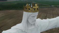 Halleluja: standbeeld van Jezus zorgt voor wifi voor heel dorp
