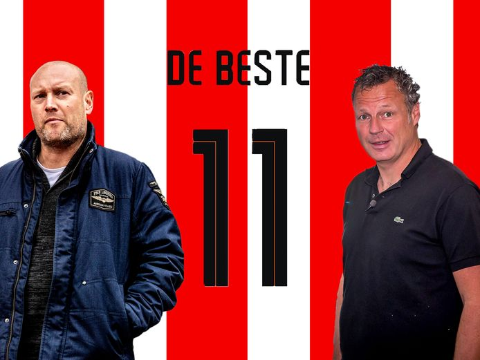 Maarten Wijffes (links) en Mikos Gouka.