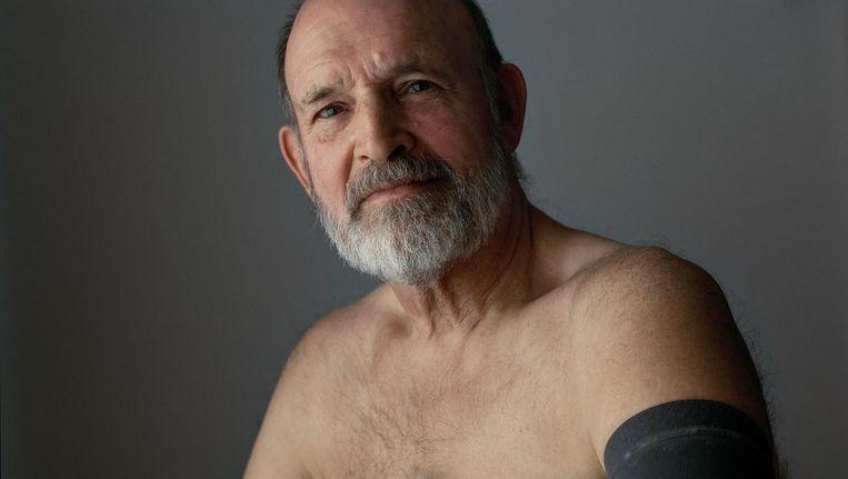 Alan Herbert: 'Bij de echo maakte ik nog grappen met de arts, ineens werd het serieus' Beeld Maarten Boswijk