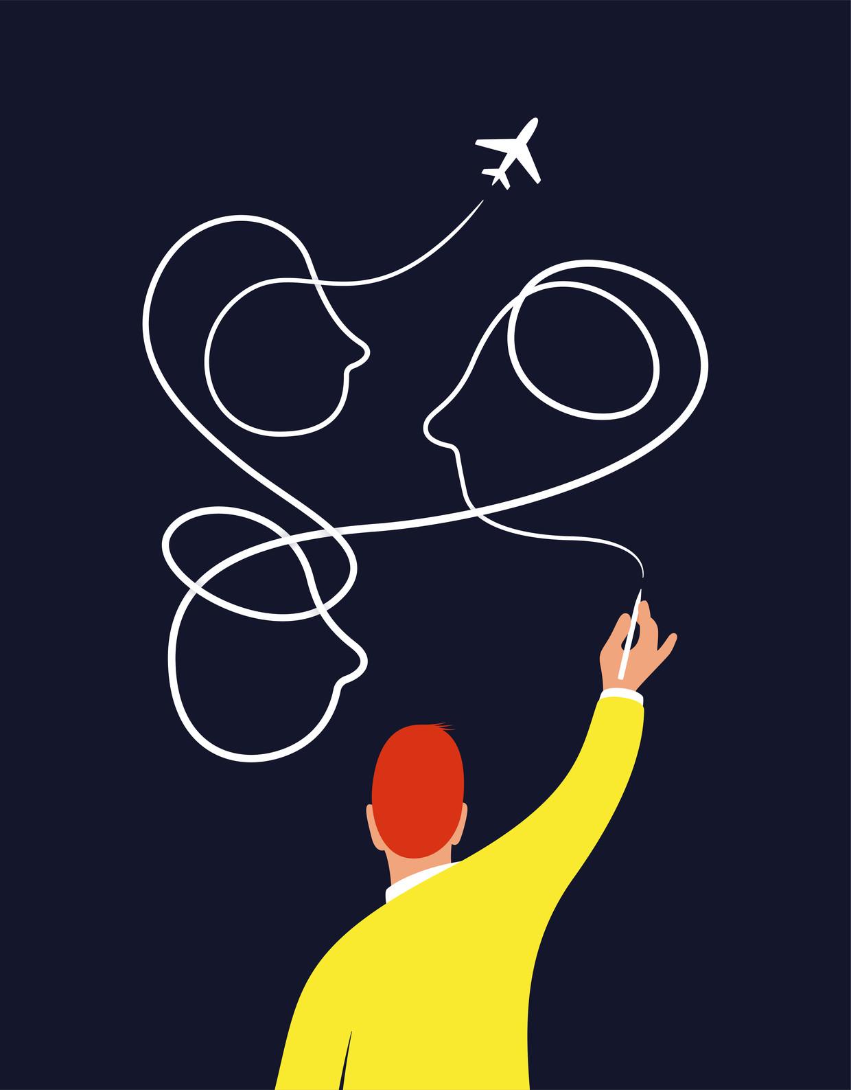 Juist door ver te reizen help je de wereld