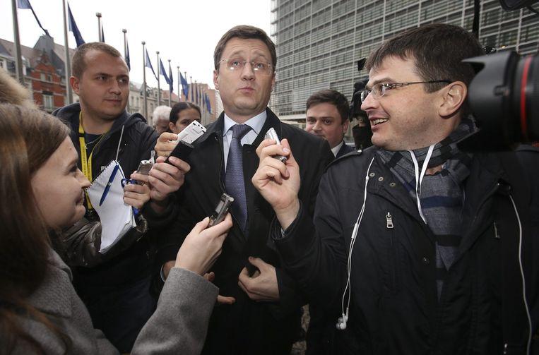 De Russische minister van Energie Aleksandr Novak. Beeld ANP